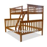 A madeira maciça de fundo total Twin Top beliche (WJZ-B72)