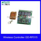 4 canales transmisor y receptor, Mando a distancia de 4 relés (GD-RF015)