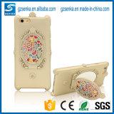 Крышка случая телефона зеркала Tridimensional фабрики Китая косметическая для iPhone 7/7plus с Rhinestone Bling Bling