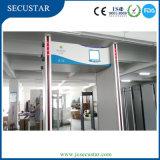 Lcd-Bildschirmanzeige-bewegliche Türrahmen-Metalldetektor-Sicherheits-Gatter-hohe Empfindlichkeit