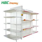 Individual Supermarket Gondola Side Wall Shelf