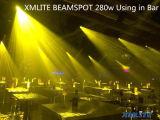 Professional 280W spot Tête mobile DJ Stade de l'équipement d'éclairage