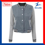 Healong China Wholesale Clothing Good Design Ladies baseball Jacket