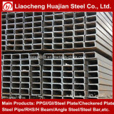 Pipe rectangulaire galvanisée chinoise pour matériaux de construction