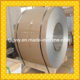 Bobine en aluminium enduite d'une première couche de peinture/bobine en aluminium fini de moulin