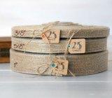 Популярно больше тесемки шнурка размера отборной Linen для DIY и украшения