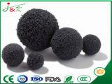 Esferas limpas da esponja de borracha do líquido de limpeza da bomba concreta
