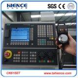 Máquina hidráulica Ck6132A do torno do CNC do mandril do sistema de Siemens