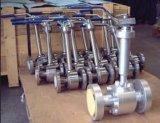 Válvula de bola de brida de acero inoxidable a baja temperatura