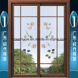 L'intérieur des portes coulissantes en aluminium l'extérieur des portes coulissantes