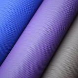 A cor azul Textured o couro de empacotamento decorativo gravado superfície do plutônio de Matt