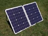 120W che piega comitato solare per il campeggio con il cavo 10m