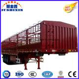 Tri-Axle de alta calidad Ganadería y productos agrícolas Carrier Stake Truck Utility Semirremolques