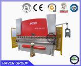 Freio da imprensa hidráulica e máquina de dobra Wc67Y-500X4000 da placa