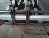 Automático de alta velocidad caja de papel corrugado doblado y pegado la máquina