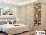 De moderne Garderobe van de Kasten van het Meubilair van het Hotel van de Slaapkamer van het Huis van Spanje Houten