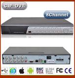8CH H 264 software DVR da rede