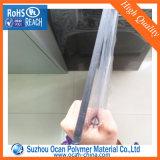 Het dikke Transparante Duidelijke Plastic Blad van pvc met Membraan voor het Koude of Hete Buigen