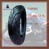 Zonder binnenband, Super Quality, ISO Nylon 6pr Long Life Motorcycle Tire met Size: 130/80-17tl