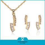 Chapado en oro joyería personalizada (J-0046)