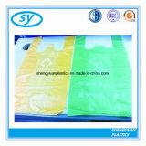Bolso de basura plástico de encargo coloreado