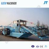 De aquatische Schoonmakende Boot van de Waterspiegel van de Maaimachine van het Onkruid