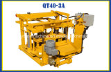 アフリカ諸国で普及したブロック機械を層にさせる機械卵に移動可能なブロック