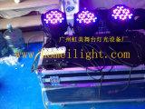 54PCS 3W RGB 3 in 1 LEIDENE Parcan voor de Partij Concernt van het Stadium van het Huwelijk