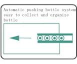 Pequeña máquina de etiquetado auta-adhesivo de la escritura de la etiqueta de la etiqueta engomada de la botella de cristal de la ampolla automática