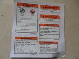 Decalcomania dell'etichetta per paraurti dell'automobile del vinile