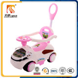 Push Power 4 Wheels Plastic Kids Car for Children Ride on
