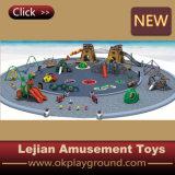 Magic Box de l'équipement de terrain de jeux de plein air en bois (PY1401-6)