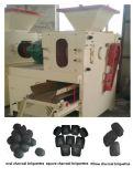 Oreiller ballon ovale carrés Shap Machine briquettes de charbon de bois