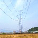 220kv escolhem a torre de aço da transmissão de potência do ângulo da tensão do circuito