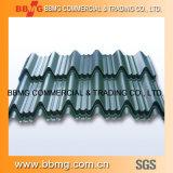 Heiß/walzte Baumaterial-heißes eingetaucht galvanisiert vorgestrichenes/Farbe beschichtetes gewelltes PPGI kalt, das Stahlblech-Metall Roofing ist