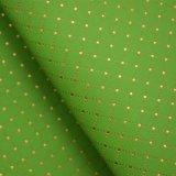 Línea cuero decorativo grabado cuero sintetizado del oro del Faux de la PU