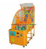 催し物の硬貨によって作動させるゲームの子供のバスケットボール機械