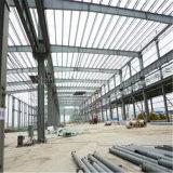 Construction stable préfabriquée d'atelier de structure métallique