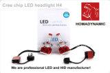 H4 высокого и низкого биксеноновые лампы светодиодные фары 40W 9600лм продаж в большого количества