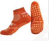 Yoga-Trampoline-trifft Antibeleg-Sprung Pilates nicht Beleg Pilates Socken hart