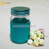 vaso di muratore di vetro 435ml con scintillio rifinito