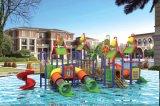 O Aqua Park escorrega aquático de fibra de vidro desliza para venda