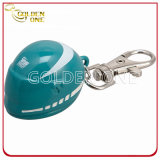 Progettare la catena per il cliente chiave stampata schermo del metallo di figura del casco