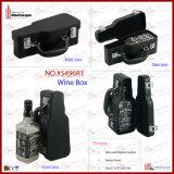 ギターデザイン1びんの携帯用ワインの箱(5496R1)