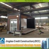 Casa modular prefabricada del envase/casa prefabricada rápidamente ensamblada