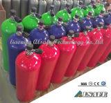 50liter継ぎ目が無いアルミニウム圧縮空気タンクへの0.5liter