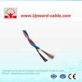 Fil Twisted jumeau flexible isolé par PVC de courant électrique