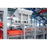 Польностью автоматическая конкретная машина делать кирпича Paver