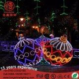 Ce/RoHS grande al aire libre 8m 3D La Bola de caucho Motif Lights para Navidad Jardín Decoraitons