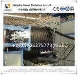 O HDPE do PE perfilou a máquina da fabricação da tubulação do enrolamento
